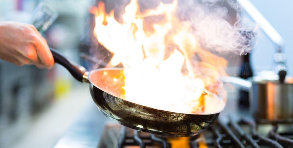 Chef Veneti il Menù di Pasqua flambata